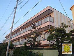 千葉県市川市稲越町の賃貸マンションの外観