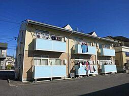 愛知県岡崎市矢作町字祗園の賃貸アパートの外観