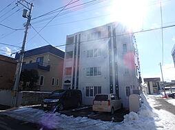北海道札幌市豊平区美園六条3丁目の賃貸マンションの外観