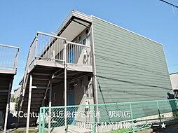 コーエイハイツA棟[1階]の外観