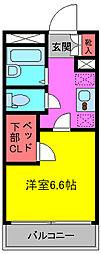 埼玉県さいたま市緑区大字大谷口の賃貸マンションの間取り