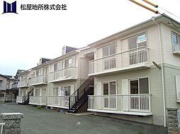 愛知県豊橋市新栄町字大溝の賃貸アパートの外観