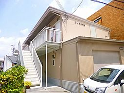 大阪府池田市西本町の賃貸アパートの外観
