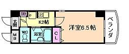 ホープシティー天神橋[9階]の間取り