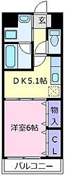 アミアミマンション[3階]の間取り