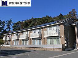 愛知県豊橋市駒形町字丸山の賃貸アパートの外観