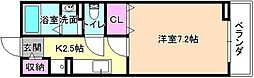大阪府枚方市枚方元町の賃貸アパートの間取り