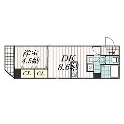 Arcenciel稲毛(アルカンシエル稲毛)[7階]の間取り