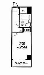 kyMax日ノ出町[201号室]の間取り