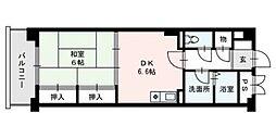 福岡NSビル[702号室]の間取り