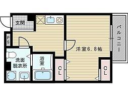 レッドウェル菅原[2階]の間取り
