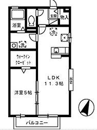 アンデルセン ハウス−I[101号室]の間取り