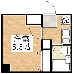 プレアール平野本町[1階]の間取り