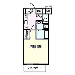 アゼリア鎌倉B棟[3階]の間取り