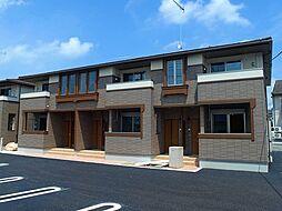 栃木県真岡市熊倉町の賃貸アパートの外観