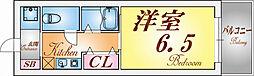 ブリランテ神戸マグノリアコート[3階]の間取り