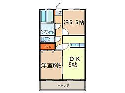 プレタメゾン[3階]の間取り