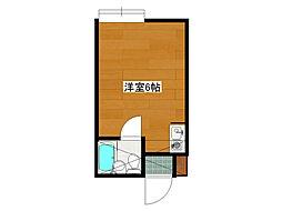 ブルーメアライ70[102号室]の間取り