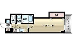 ラグゼ新大阪サウス[4階]の間取り