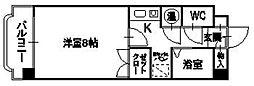 未来図ビル[505号室]の間取り