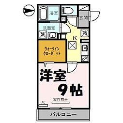 (仮)日進町1丁目PJ 1階1Kの間取り