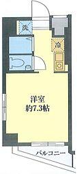 JR中央線 御茶ノ水駅 徒歩6分の賃貸マンション 7階ワンルームの間取り