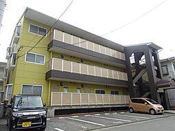 福岡県久留米市東合川新町の賃貸アパートの外観