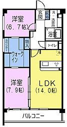 上井草グリーンハイツ5[1階]の間取り