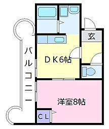 309プラザ[2階]の間取り