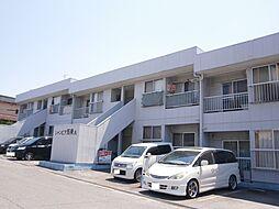 愛知県岡崎市上地5丁目の賃貸アパートの外観