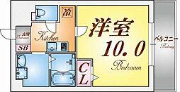 クレアドル須磨II[901号室]の間取り