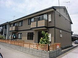 滋賀県米原市宇賀野の賃貸アパートの外観