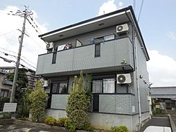 大阪府大阪狭山市半田2の賃貸アパートの外観