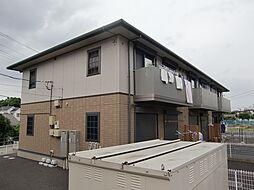 埼玉県川越市藤倉2丁目の賃貸アパートの外観