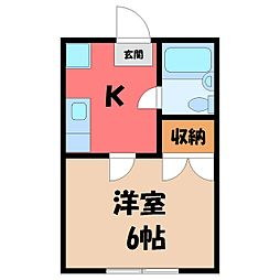 江曾島駅 2.2万円