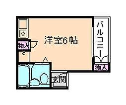 美和マンション[3階]の間取り