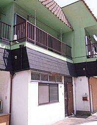 埼玉県草加市新栄4丁目の賃貸アパートの外観
