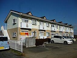茨城県筑西市関本上の賃貸アパートの外観
