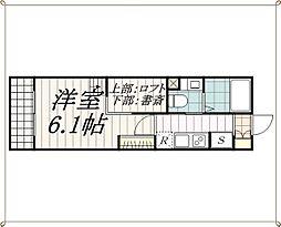 フォーサイトハイツ2[2階]の間取り