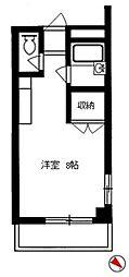 パティオ箱崎[103号室]の間取り