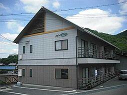 岡山県倉敷市児島宇野津の賃貸アパートの外観