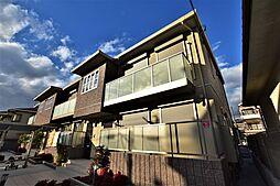 大阪府羽曳野市高鷲7丁目の賃貸アパートの外観