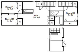 BSビル[1階]の間取り