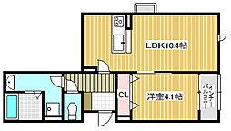 仮称 横堤4丁目新築マンション[201号室]の間取り