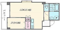 (仮称)箱崎1丁目新築マンション[205号室]の間取り