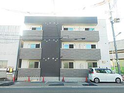 大阪府大阪市平野区加美正覚寺4丁目の賃貸アパートの外観