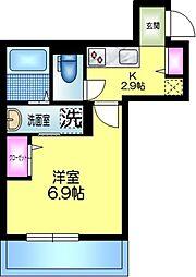 J.maison ジェイメゾン 2階1Kの間取り