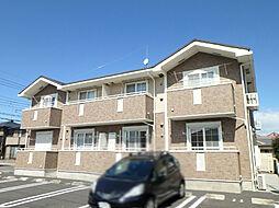 栃木県小山市城東2丁目の賃貸アパートの外観