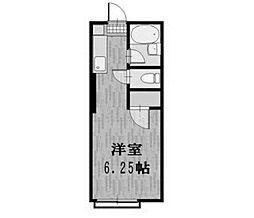 ミーテ・セレーノ矢野口[2階]の間取り