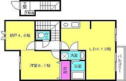 [タウンハウス] 兵庫県明石市魚住町住吉2丁目 の賃貸【/】の間取り